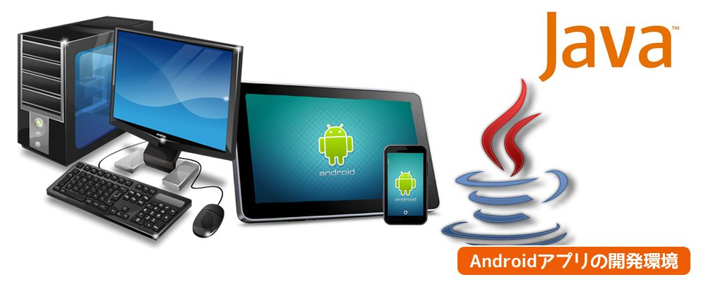Andoridアプリの開発環境